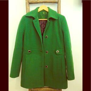 Calvin Klein - Green Winter Coat - Size 4 - NWOT